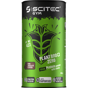 SCITEC Plant Bro+ Zero Protein Powder with Stevia 500g Chocolate